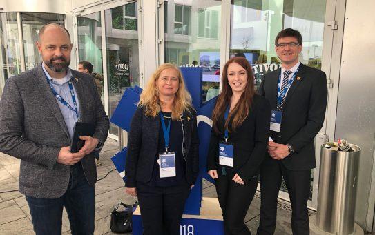 Naši kolegové na konferenci EMS2018 v Kodani