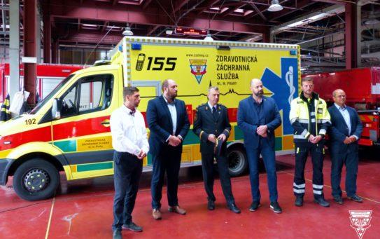 Pražská záchranka otevírá 22. základnu. Slouží zde záchranáři-specialisté pro urgentní medicínu