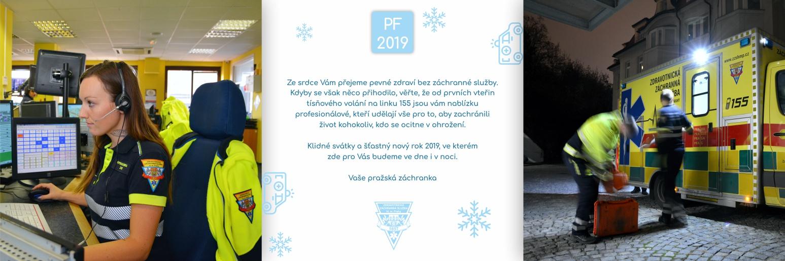 Klidné svátky a šťastný nový rok 2019