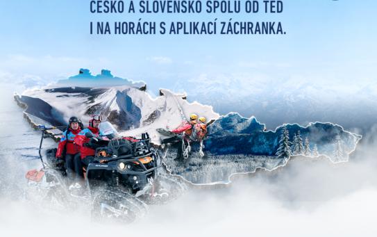Aplikace Záchranka funguje i na slovenských horách