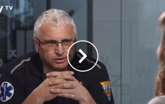 Každý výjezd má svůj důvod – primář Ondřej Franěk v DVTV