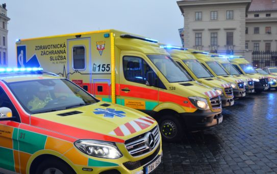 Pražská záchranka reklamuje závady na nových sanitních vozech