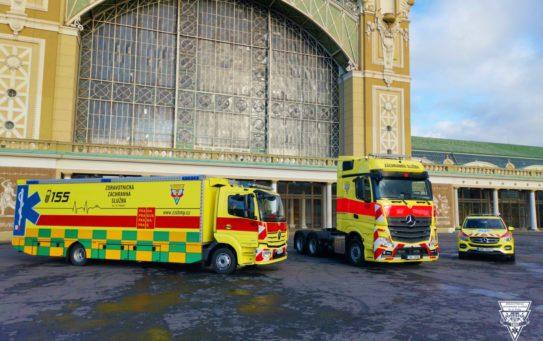 Evakuační vozidlo a nový tahač pro modul Golem. Pražská záchranka má nové speciální vozy