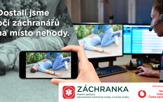 Videopřenosy z aplikaci Záchranka