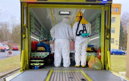 Transportujeme 10 pacientů ze Sokolova do Humpolce