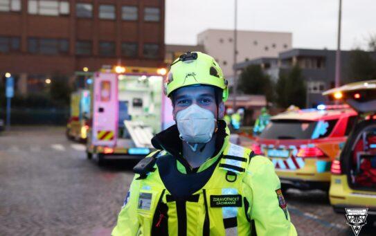 Pražská záchranka nacvičovala zásah po útoku v budově ministerstva