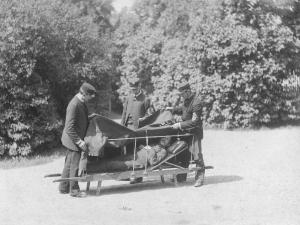 Historie transport zraněných 2