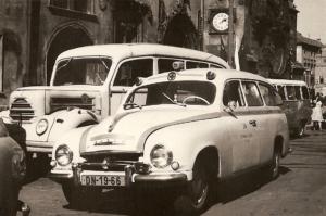 1960 - Škoda 1201 na Staroměstském náměstí