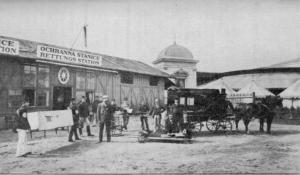 1891 - stanice na výstavi¹ti -foto